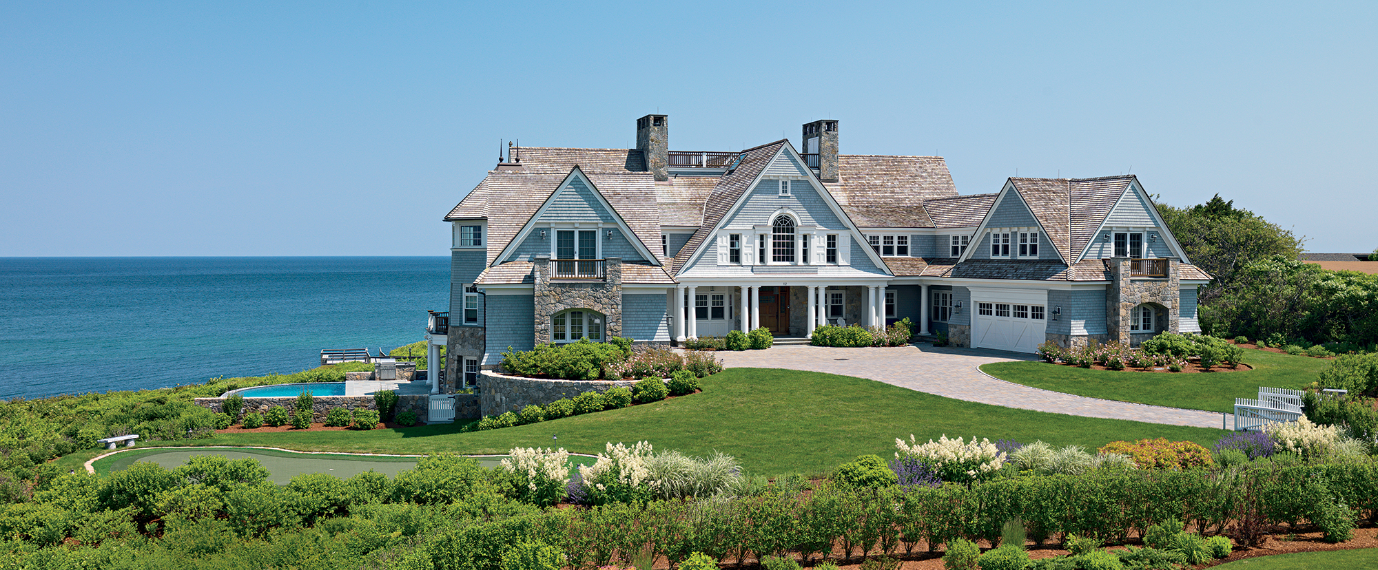 house at the cape overlooking the ocean